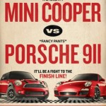 MINI Cooper S и Porsche 911 Carrera S