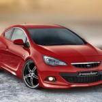 Opel Astra GTC 2012 попала к специалистам Irmscher