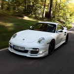 Porsche 911 Turbo и мощный тюнинг-пакет от Techart