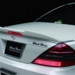 Mercedes SL получил от японцев новый тюнинг-пакет Wald R230 SL-Class Sports Line Black Bison Edition