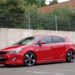 Opel Astra J после Senner Tuning стал более агрессивным