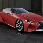 Первые фото концепт-кара Lexus LF-LC