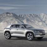 Volkswagen представил концепт будущих кроссоверов