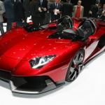 Уникальный Lamborghini Aventador J продали прямо на выставке