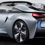 BMW представил информацию о концепт-каре i8 Spyder