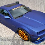 Симпатичный Chevrolet Camaro SS Blaumatt Gold от GiegerCars