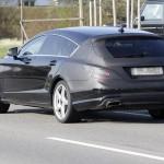 Шпионские снимки Mercedes-Benz CLS Shooting Brake