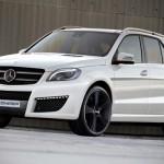 Kicherer доработали новый кроссовер Mercedes-Benz ML