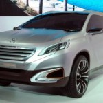 Peugeot готовит кроссовер Urban Crossover Concept к будущему