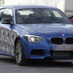 Шпионские фото прототипа BMW M135i