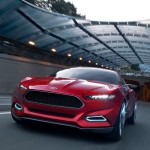 На основе Ford Evos будет создано новое поколение Mustang