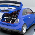 Lazzarini Design вставит в Fiat 500 двигатель от Ferrari 458 Italia