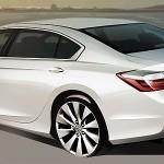 Появились изображения новой Honda Accord
