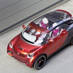 Smart представит концептуальное спортивное купе Forstars