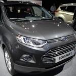 Ford привез в Париж европейскую модель кроссовера EcoSport