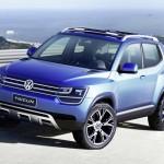 Volkswagen показала концепт-кар Taigun