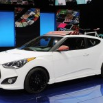 Hyundai представил спортивный пикап-купе-кабриолет Veloster C3 Roll Top