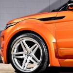 Range Rover Evoque Vesuvius Orange от Ultimate Auto