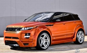 Range Rover Evoque Vesuvius Orange от Ultimate Auto