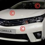 Появились первые фото новой Toyota Corolla