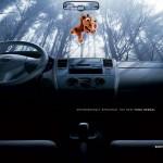 Реклама салона Nissan Tiida