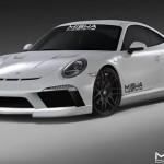 Misha Design доработал Porsche 911 последнего поколения