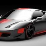 Ferrari 458 Curseive от Gray Design и Vogue Auto Design