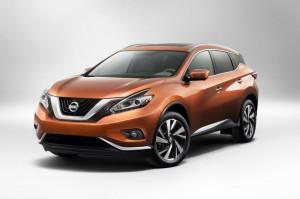 Третье поколение Nissan Murano 2015