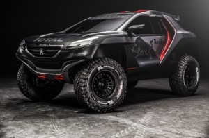 Peugeot будет участвовать в Дакаре на новеньком кроссовере 2008 DKR