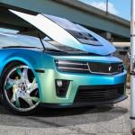 Chevrolet Camaro в тюнинге от Forgiato Wheels