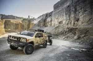 Nissan Project Titan для снегов Аляски