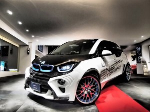 Электрокар BMW i3 Evo от Garage Eve.ryn