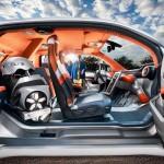 Budii на базе BMW i3 с телескопом для автопилота