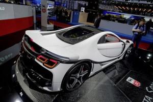 GTA Spano из ультрасовременного материала графена