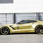 Золотой Chevrolet Corvette Stingray от Forgiato
