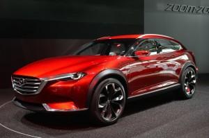 Mazda представила концепт кроссовера купе Koeru